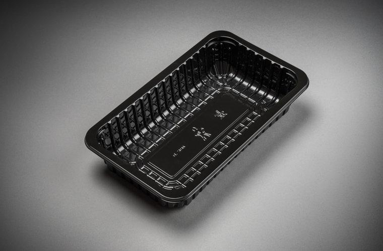 Foodtrays FT73 diep zwart 230x135x45mm