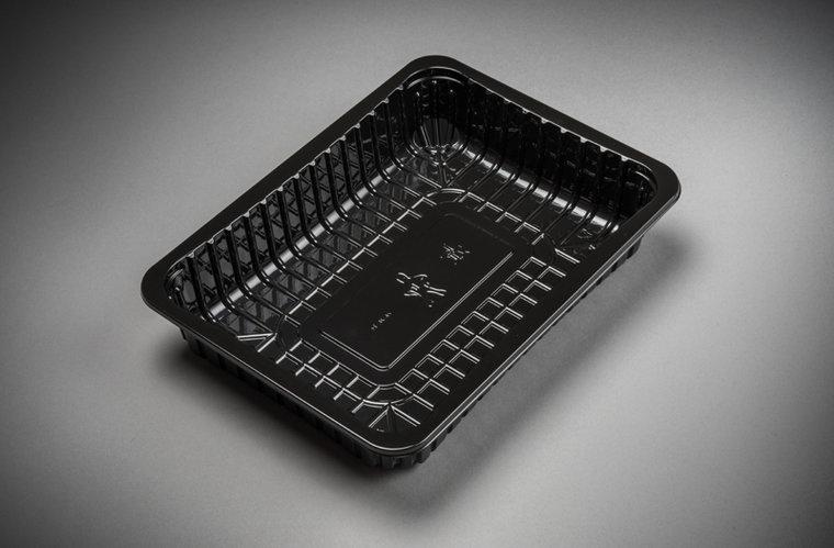 Foodtrays FT-3S diep zwart 250x180x45mm