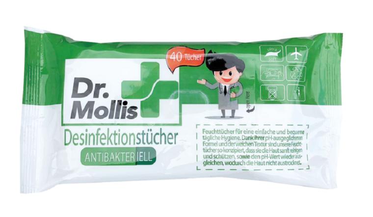 Antibacteriële desinfecterende doekjes 120 stuks
