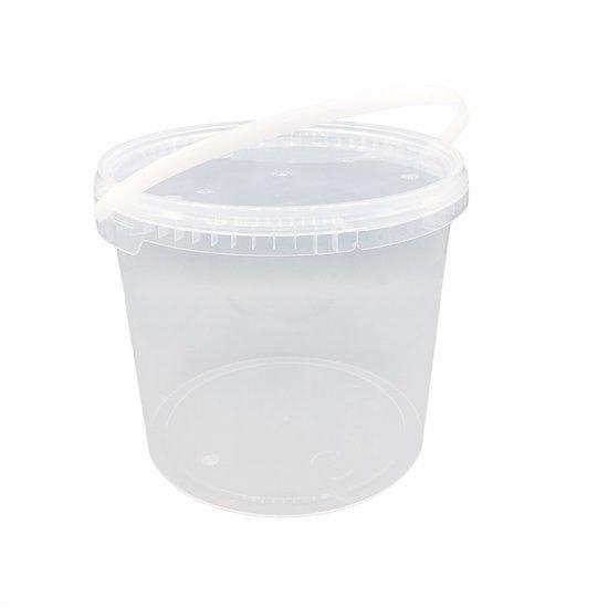 Emmertjes 5,7 liter met lekdichte deksel