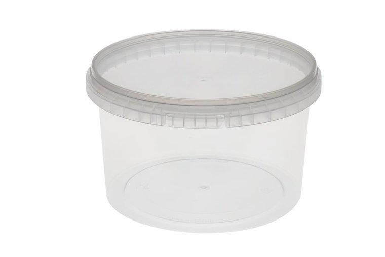 Verzegelbare cups 1000ml met deksel