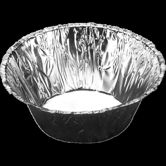 Aluminium bakjes rond 80cc