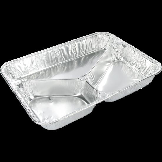 Menubakken 3-vaks aluminium laag
