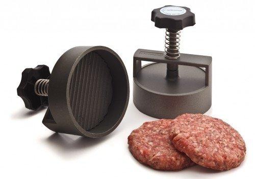 Hamburgerpers Spikomat rond 100mm