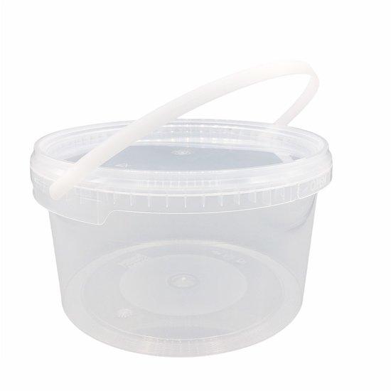 Emmertjes 3,5 liter met lekdichte TE deksel
