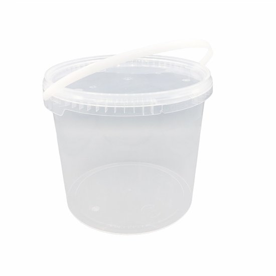 Emmertjes 5,5 liter met lekdichte TE deksel