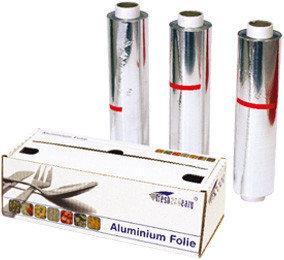 Aluminiumfolie rol in dispenserdoos 50cm