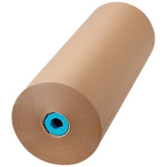 Bruin kraftpapier rol 40cm