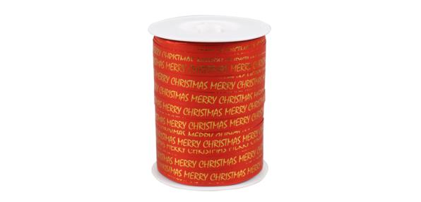 Lint rood Merry Christmas