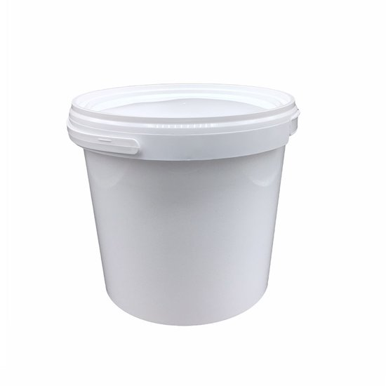 Emmertjes wit 2,5 liter met lekdichte TE deksel