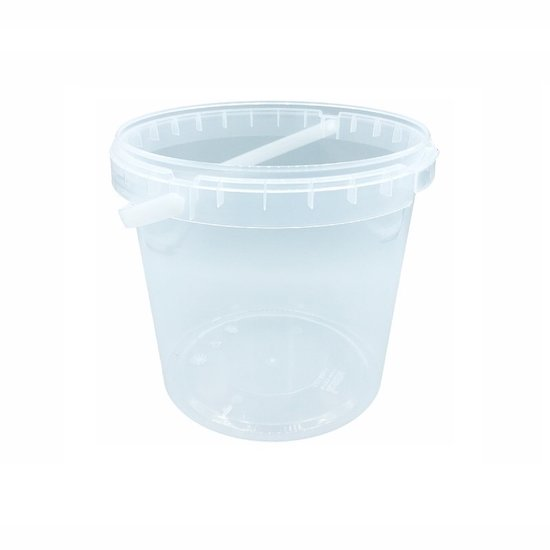 Emmertjes 2,5 liter met lekdichte TE deksel