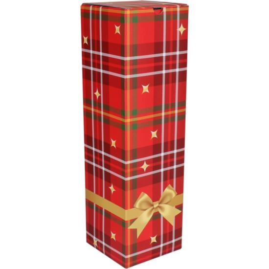 Wijndoos kerst Hohoho 95x95x330mm