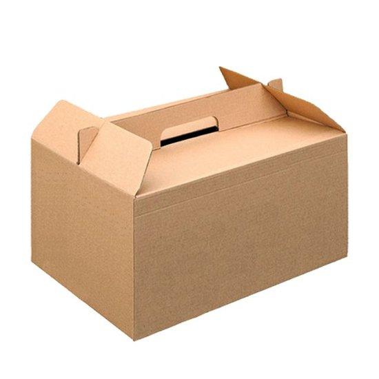 Take-away doos met handvat 370x270x250mm