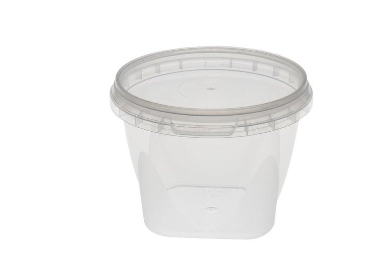 Verzegelbare cups 565ml met deksel