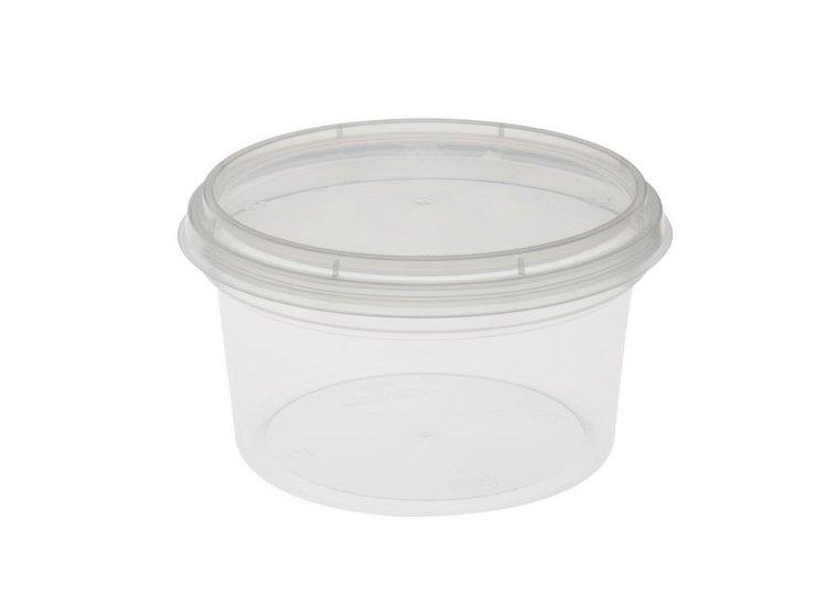 Verzegelbare cups 500ml met deksel