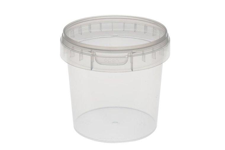 Verzegelbare cups 600ml met deksel