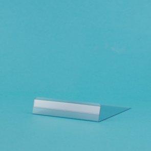 Prijskaarthouders transparant 1x10cm