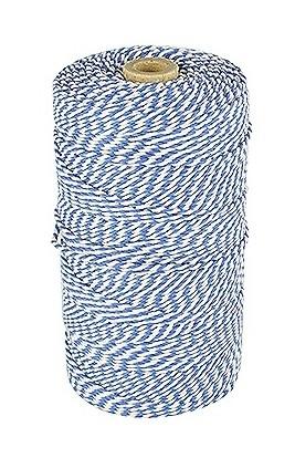 Rolladetouw blauw-wit