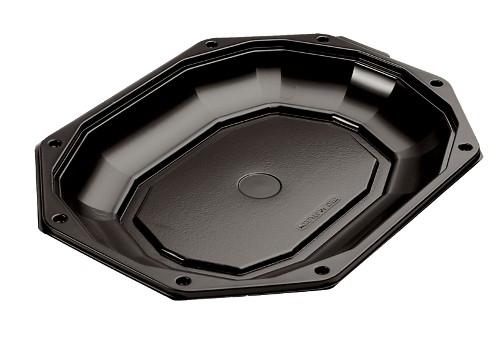 Catering schalen 335/250 zwart