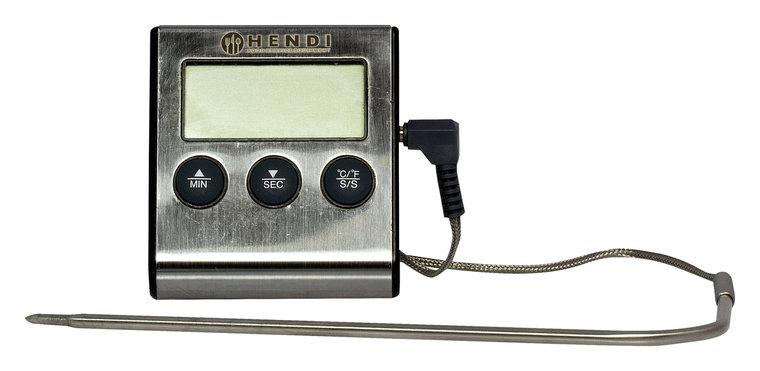 Braadthermometer met timer