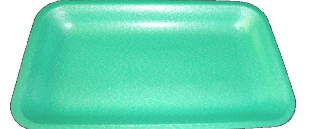 Schuimschaaltjes 70 groen 175x135x25mm