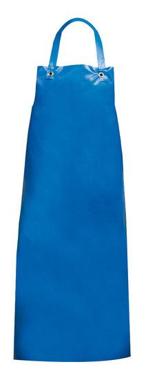 Plastic schort PU blauw