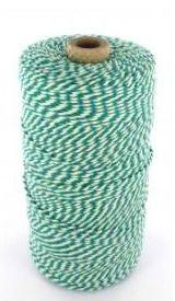 Rolladetouw groen-wit