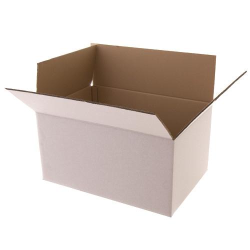 Kartonnen dozen wit 360x360x120mm