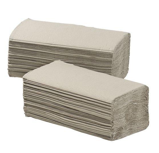 Handdoekjes budget Z-vouw 1-laags pallet