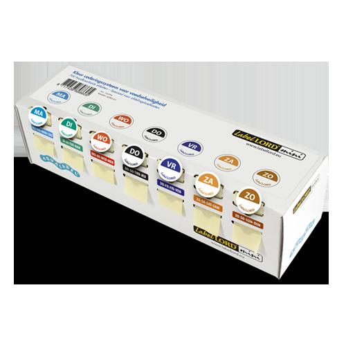 Houdbaarheidsstickers Labellord mini