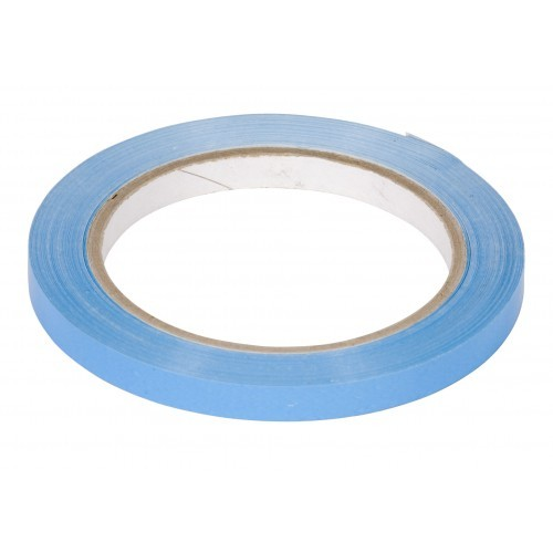 Zakkensluittape blauw 16 rol