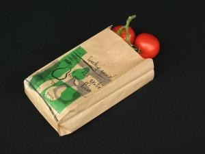 Fruitzakken kraft 1 pond bruin