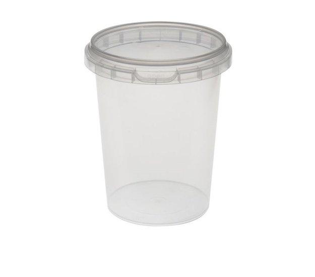 Verzegelbare cups 520ml met deksels