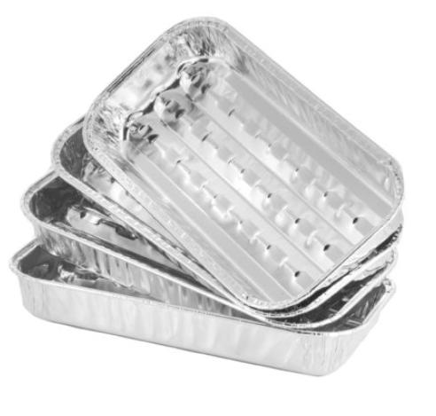Aluminium grillschaaltjes 10x14cm