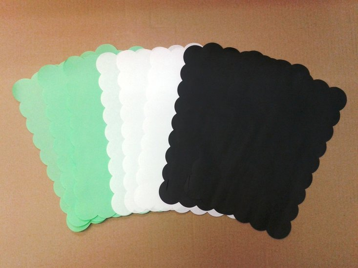 Meatsaver papiervellen 20x30cm groen