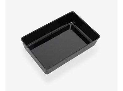 Toonbankbak zwart 420x280x70mm
